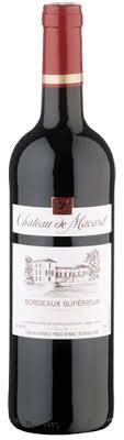 Chateau Macard Bordeaux Superior wine