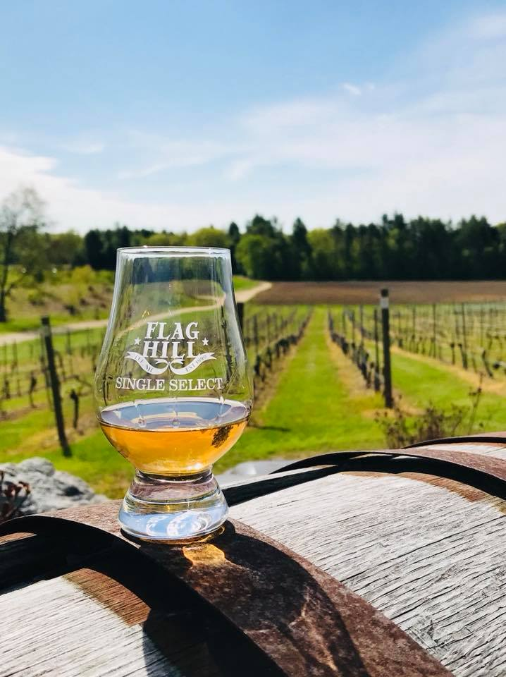 Flag Hill Distillery and Winery Seacoast Wineries